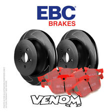 EBC Front Brake Kit Discs Pads for Volvo V70 Mk3 3.0 Twin Turbo T6 Elec H/B 07-