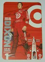 2004 SCOTT DIXON SIGNED AUTOGRAPHED IRL PROMO PHOTO CARD & COA INDY 500 RACING