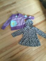 Lot Of 2 Girl 2t Sweaters