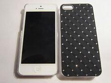 Black Diamond BLING iPhone SE 5S 5 Designer Luxury Glitter Full Protective Case