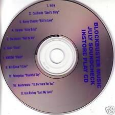Sound Check PROMO CD KMFDM Hum KENNY CHESNEY Del Amitri