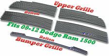 09-12 11 10 2009 2010 2012 Dodge Ram 1500 New Body Style  Billet Grille 5PC Comb