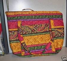 Hand Crafted Quilted Purses Multi Colored LOOK!!