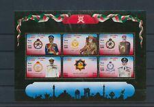 LM83374 Oman gold foil historical figures fp good sheet MNH