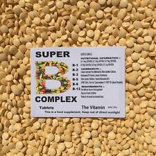VITAMIN SUPER B COMPLEX  120 Tablets  one per day  (L)