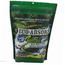 New Sealed Lot Of 5 eco absorb ~ all natural spill clean up 1.82 qt (2L)