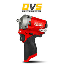 """MILWAUKEE M12FIW38-0 12V M12 FUEL 3/8"""" IMPACT WRENCH BODY ONLY"""