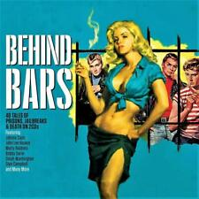 BEHIND BARS - 40 TALES OF PRISONS - VARIOUS ARTISTS (NEW SEALED 2CD Digipak)