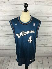 Men's Washington Wizards Nba Basketball Shirt - Large - #4 Jamison - Adidas