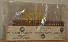 Allen-Bradley Quality Fixed Resistors Rc32Gf272J 2700 Ohm 5% 1 Watt - Lot of 50