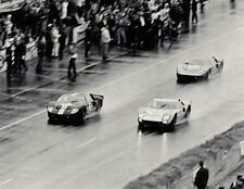 GT40 Ford 1966 GT 1 Race Shelby Sport Car 24 McLaren 18 Vintage 12 Carousel Blac