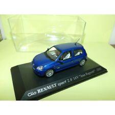 RENAULT CLIO SPORT 2.0 16V J. RAGNOTTI 2002 Bleu UNIVERSAL HOBBIES Collection M6
