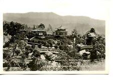 Japanese Miniature Village-Hollywood-California-RPPC-Vintage Photo Postcard
