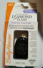 NEW! SALLY HANSEN DIAMOND FLASH FAST DRY TOP COAT