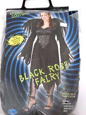 Plus Size 16-24 Women's Black Fairy Costume Cosplay Halloween Party Sexy