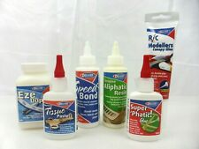 Deluxe Materials Glue & Finishing Range for RC Model Aircraft, Balsa & Plywood