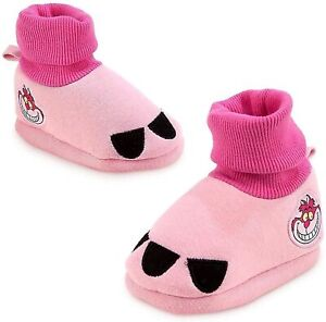Disney Authentic Cheshire Cat Alice in Wonderland Baby Shoes 6 12 18 24 Months