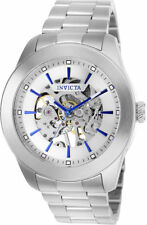 Invicta Men's Vintage Automatic 100m Stainless Steel Silver Dial Watch 25758