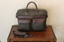 Hook and Albert Men's Nylon Twill Weekender Garment Luggage Bag - Green New