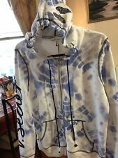 NEW VICTORIA'S SECRET SUPERMODEL ANGEL WING HOODIE JACKET SIZE M