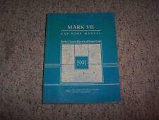 1991 Lincoln Mark VII 7 Shop Service Repair Manual Book Bill Blass LSC 5.0L V8