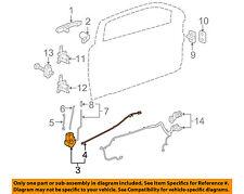 GM OEM Front Door-Lock Actuator Motor 25938087