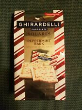 Ghirardelli ~ Milk Chocolate Peppermint Milk Bark 4.57 oz-Bag ~ 03/2021
