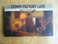 """VARIOUS ARTISTS  """" DOWN MEMORY LANE-40'S """"  4 CASSETTE BOX SET BY READERS DIGEST"""
