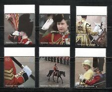 """QUEEN'S """"TROOPING THE COLOR"""" PARADE ON GREAT BRITAIN 2005 Scott 2288-2293, MNH"""