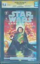 Star Wars Dark Empire 6 CGC SS 9.6 Dave Dorman Platinum Ed Rise Skywalker 10/93