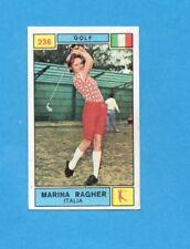 CAMPIONI SPORT 1969-70-PANINI-Figurina n.236- RAGHER-ITALIA-GOLF-Rec