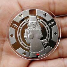 1 oz .999 Fine Silver Round Bar Bullion Coin  SB1M7 Hot Bunny Girl