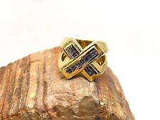 Joop Ring | aus 750/18kt Gelbgold | mit 11 Amethyst Steine | ca. 25,6g