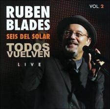 RUBEN BLADES & SEIS DEL SOLAR-TODOS VUELVEN LIVE VOL. 2 (DIG) CD NEW