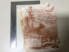 Pictorial Carving with Figure Carving Craftools for Leathercraft - Al Stohlman