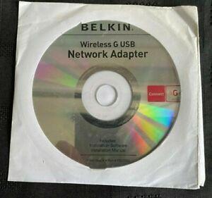 Belkin ME1001-USB Wireless USB 2.0 Adapter 802.11g