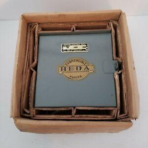 Reda Submergible Pump Control Box No. 490751-RT, NOS