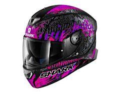 Shark Skwal 2 Switch Riders Motorcycle Helmet Black/Pink/Purple