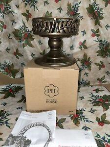 Princess House Gloria Decor Metal Candle Holder Beautiful Item & Rare #4616 NIB