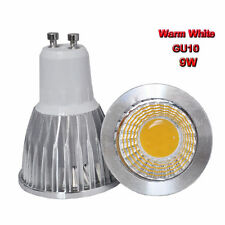 2PCS 9W GU10 85-265V COB Spot down light LED lamp bulb Warm white bright