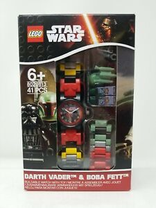 Lego Star Wars Darth Vader & Boba Fett Minifigure Buildable Watch