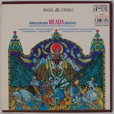 RIMKSY KORSAKOV: Malada Highlights, Svetlanov Angel Reel to Reel Tape