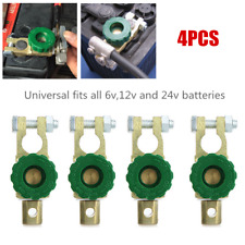 4×Car SUV Battery Link Terminal Quick Cut-off Disconnect Master Kill Shut Switch