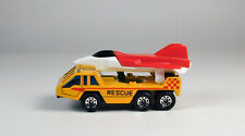 Matchbox Military Transporter Vehicle with Airplane Yellow No Package