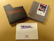 NES GAME / DAYS OF THUNDER + MANUAL (NINTENDO)
