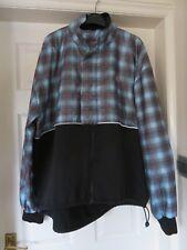 Adidas Cycling Jacket Black & Checked Design