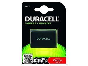 Duracell Premium Analog Canon NB-2L Battery for EOS 350D 400D PowerShot G7 G8...