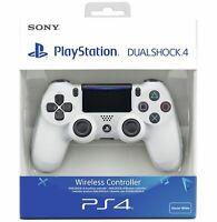 Sony Playstation PS4 DualShock 4 V2 Wireless Controller - Glacier White.