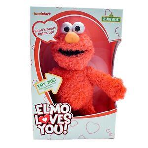 Sesame Street Elmo Loves You Plush Toy