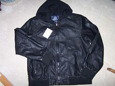 Men's Hooded Jacket - XL - American Rag - Black - MSRP $79.50
